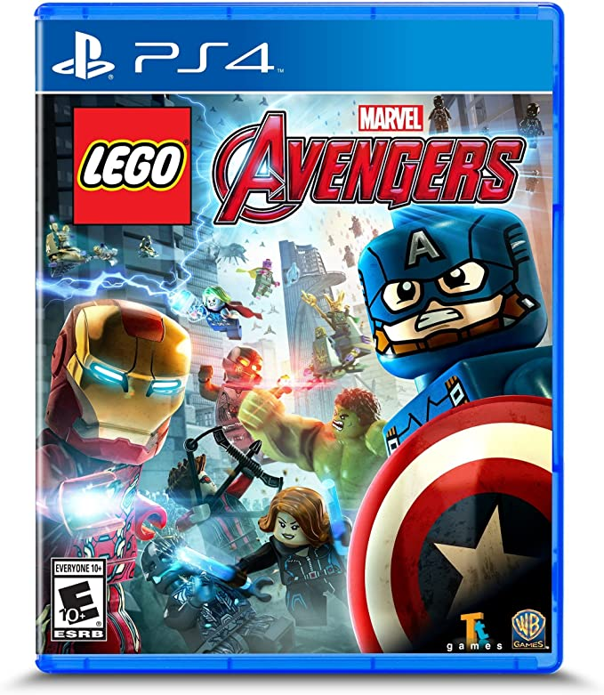 Amazon Com Lego Marvel S Avengers Playstation 4 Whv Games Video Games