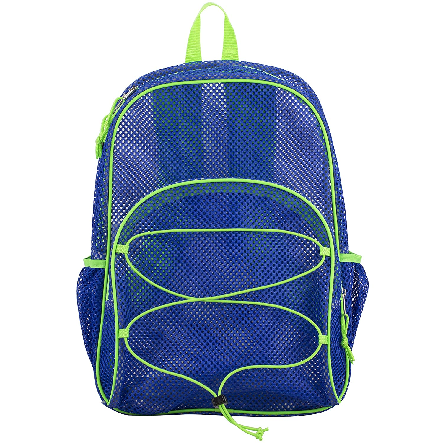 Amazon.com | Eastsport Mesh Bungee Backpack, Indigo One Size | Casual Daypacks