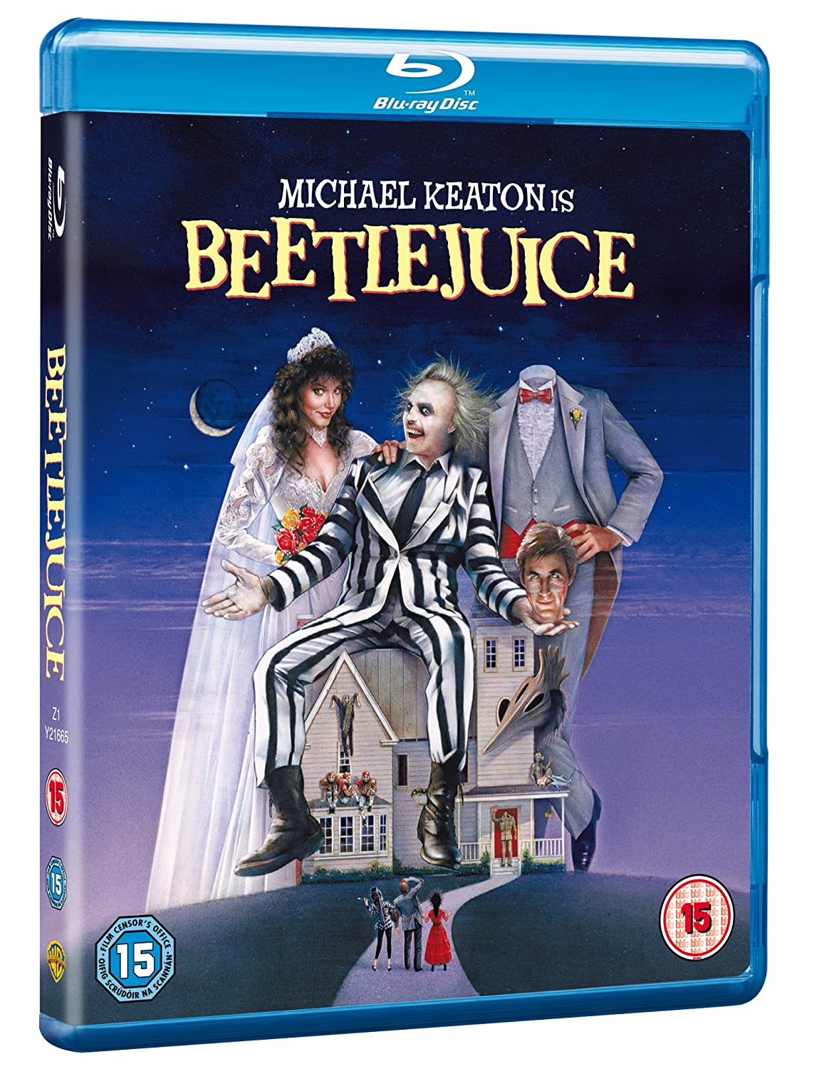 Beetlejuice [Blu-ray] [1988] [Region Free]: Amazon co uk