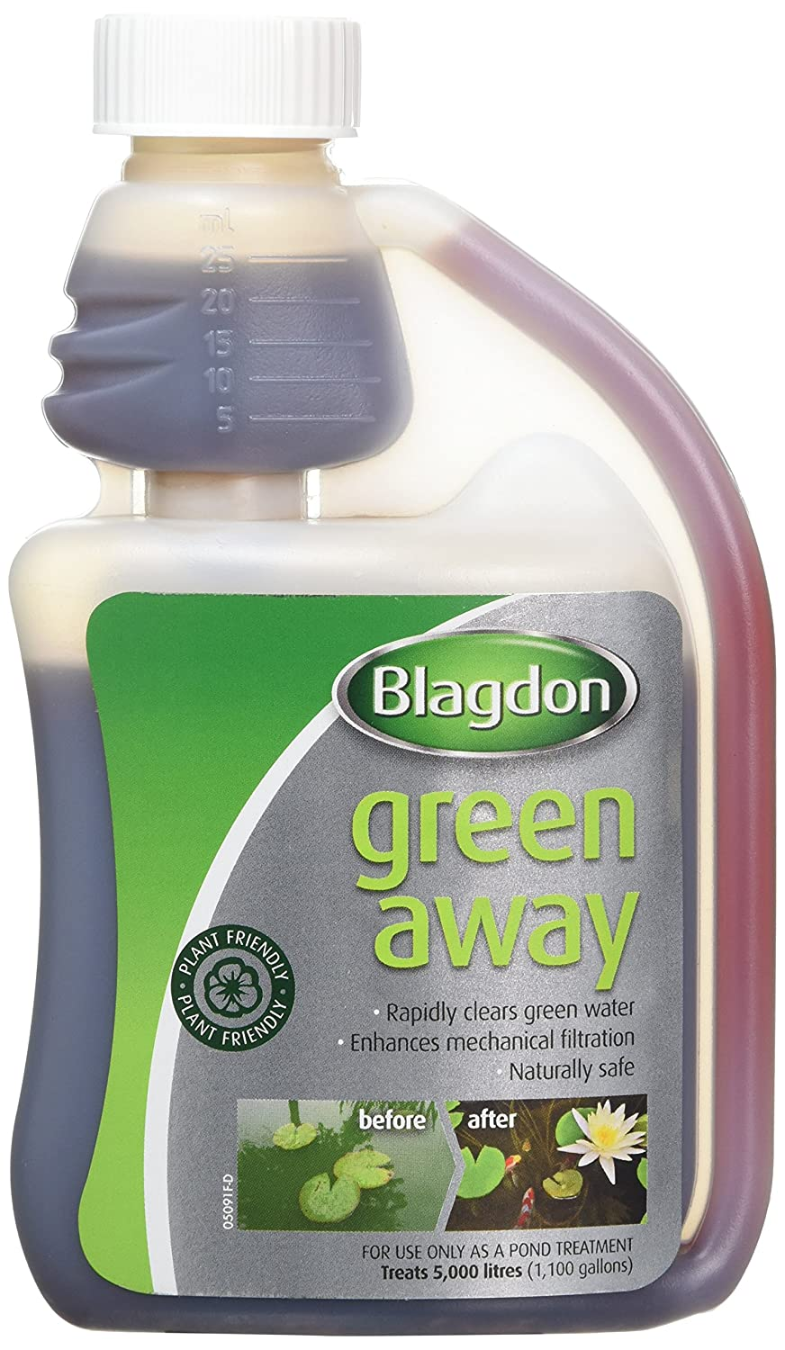 Blagdon 1L Green Away for Ponds Interpet Ltd 2674