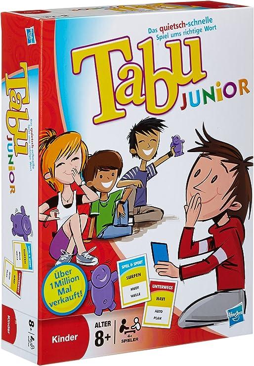 Parker 14334100 - Juego de mesa Tabu Junior (4.ª edición, 2011, en alemán) , color/modelo surtido: Amazon.es: Juguetes y juegos