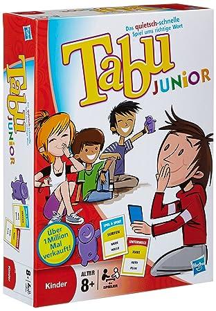 Hasbro Parker 14334100 Juego De Mesa Tabu Junior 4 ª Edicion