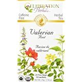 Celebration Herbals Valerian Root Tea Organic 24 Tea Bag, 45Gm