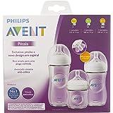 Mamadeiras Petala Transparentes - Triplo Pack 125ml, 260ml e 330ml, Philips Avent, Transparente