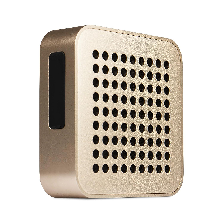 Blaupunkt BT 50 Altavoz portátil estéreo 5W Oro - Altavoces portátiles (5 W, 4 Ω, Inalámbrico y alámbrico, 2.1+EDR, A2DP,AVRCP,HFP,HSP, Altavoz portátil estéreo)
