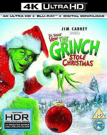 how the grinch stole christmas 4k uhd blu ray - How The Grinch Stole Christmas Stream