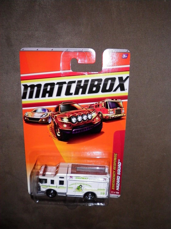 promociones MATCHBOX EMERGENCY RESPONSE 51 51 51 WHITE HAZMAT HAZARD SQUAD by Matchbox  venta directa de fábrica