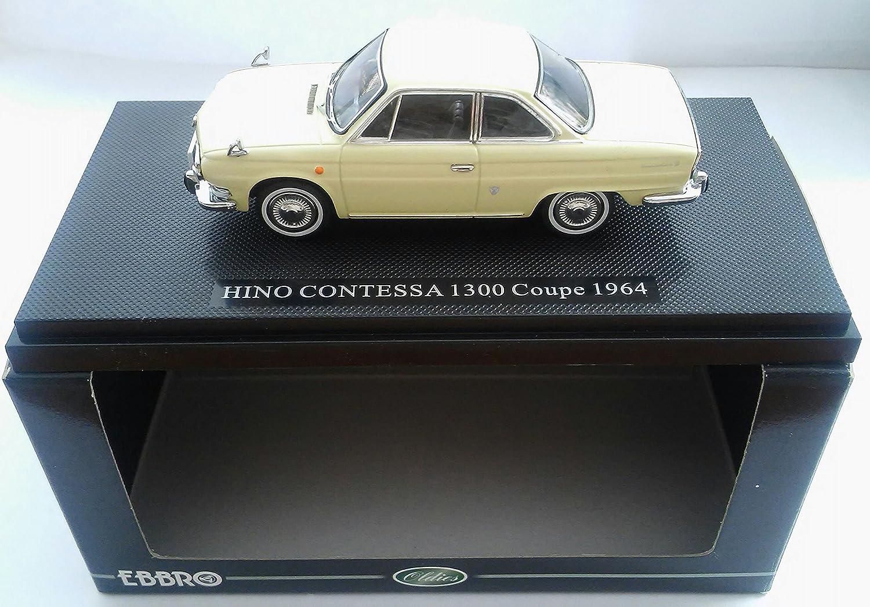 EBBRO 1/43 Hino Contessa 1300 Coupe 1965 Ivory (japan import)