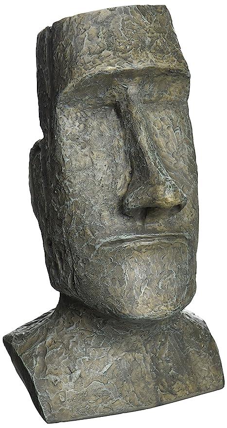 Design Toscano Easter Island Moai Monolith Sculpture In Stone