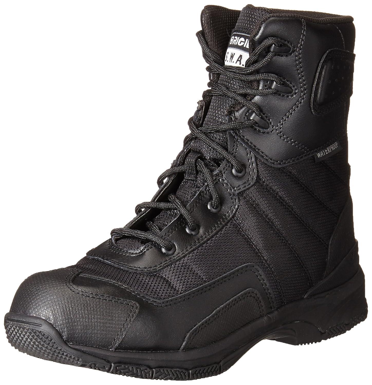 AravonレディースHope AR耐スリップ作業靴 B00M15KWEQ 8 2A US|ブラック ブラック 8 2A US