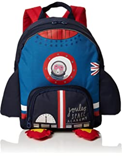 e26a11bb3d Joules Buddie Bag Girls Backpack One Size Navy Unicorn  Amazon.co.uk ...