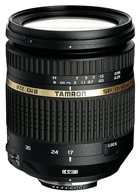 149 opinioni per Tamron SP AF 17- 50mm F/2.8 Di II VC Obiettivo Zoom per APS-C Canon