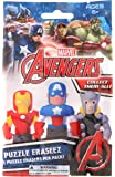Marvel Avengers Puzzle Eraseez Collectible Blind Bag With 2 Erasers Each