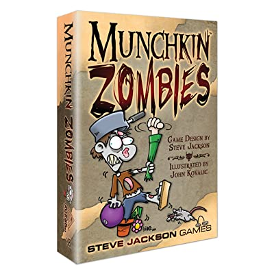 Munchkin Zombies: Toys & Games
