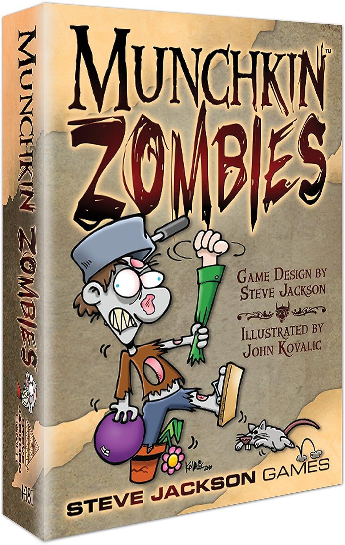 Steve Jackson Games 1481 Munchkin Zombies - Juego de Cartas ...