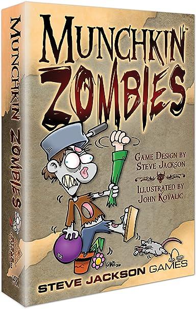Steve Jackson Games 1481 Munchkin Zombies - Juego de Cartas (edición Inglesa): Amazon.es: Juguetes y juegos