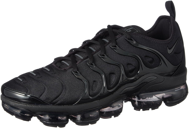 Nike Air Vapormax Plus, Zapatillas de Running para Hombre 45 EU|Negro (Black/Black/Dark Grey 004)