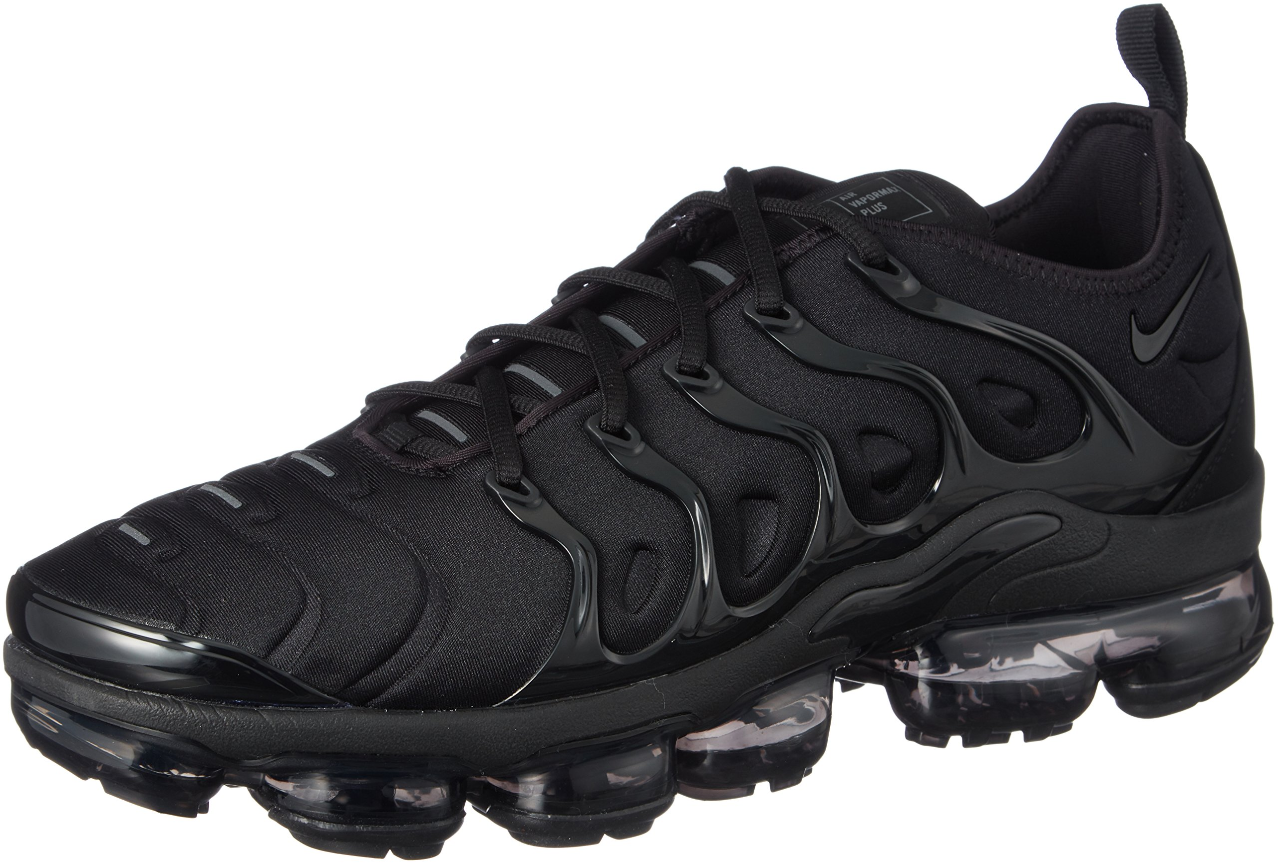 a27ae86449b Galleon - NIKE Air Vapormax Plus 924453-004 Triple Black Dark Grey Men s  Running Shoes (10)