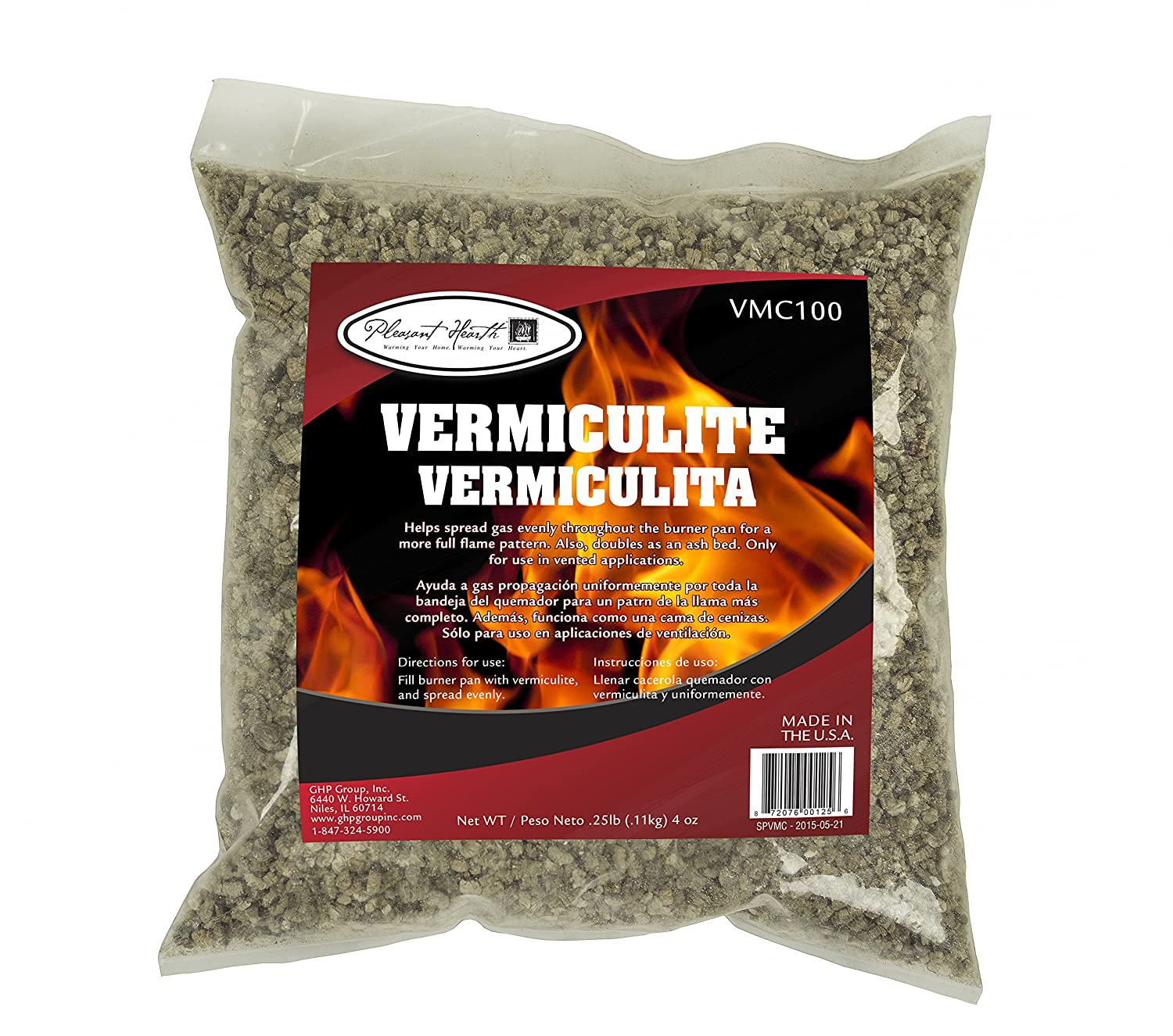 Amazon.com: Pleasant Hearth VMC100 Vermiculite Equipment, 4 oz: Home & Kitchen