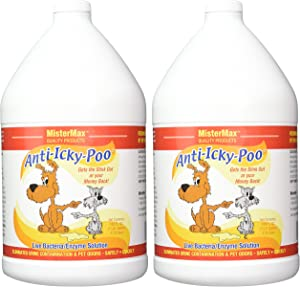 Mister Max Anti Icky Poo Odor Removal 2 Gallon Set