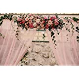 ورق جدران منظر الورد ثلاثي الابعاد
