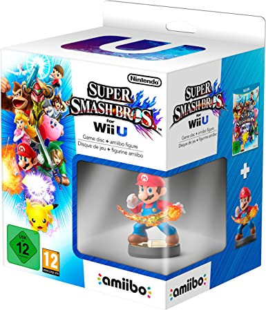 Super Smash Bros. + Amiibo Mario: Amazon.es: Videojuegos