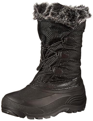 Kamik Powdery Snow Boot (Toddler/Little Kid/Big Kid), Black,