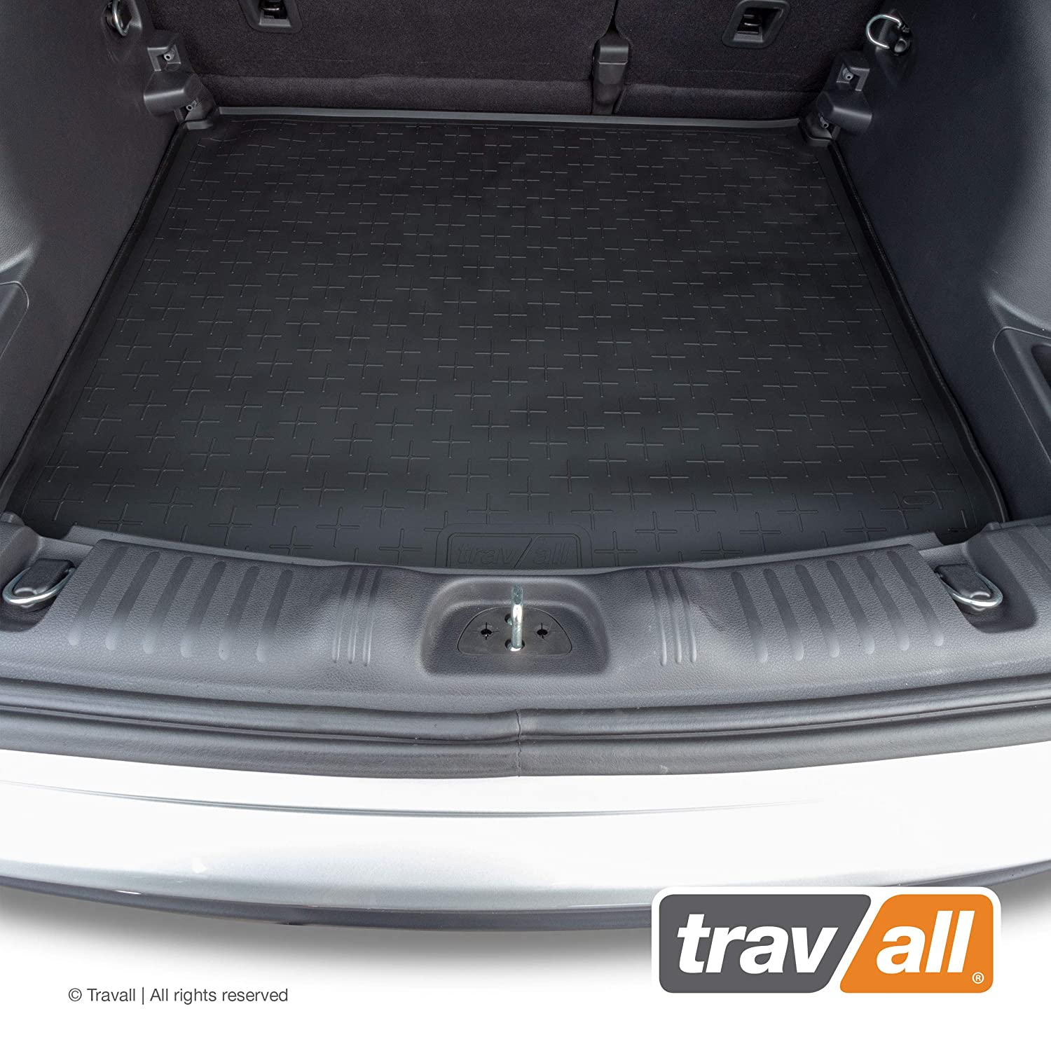 Vehicle-Specific Black Rubber Boot Mat Liner Travall Liner TBM1199