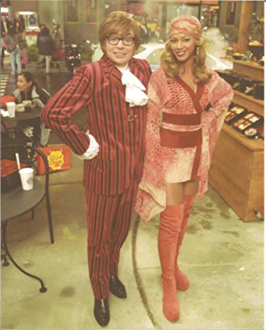 988cf3007 Austin Powers Mike Myers & Beyoncé in mini skirt & thigh high boots - 8 x  10 inch Photo 004 at Amazon's Entertainment Collectibles Store
