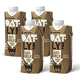 Oatly Chocolate Oatmilk, 11 Ounce (4 Pack), Single Serve