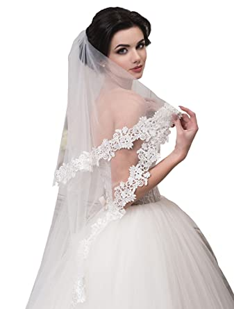 Bridal Veil Anna From NYC Bride Collection (short 30u0027u0027, ...