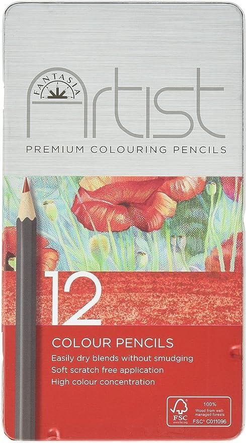 Pro-Art Fantasia Colored Pencils 12//Pkg