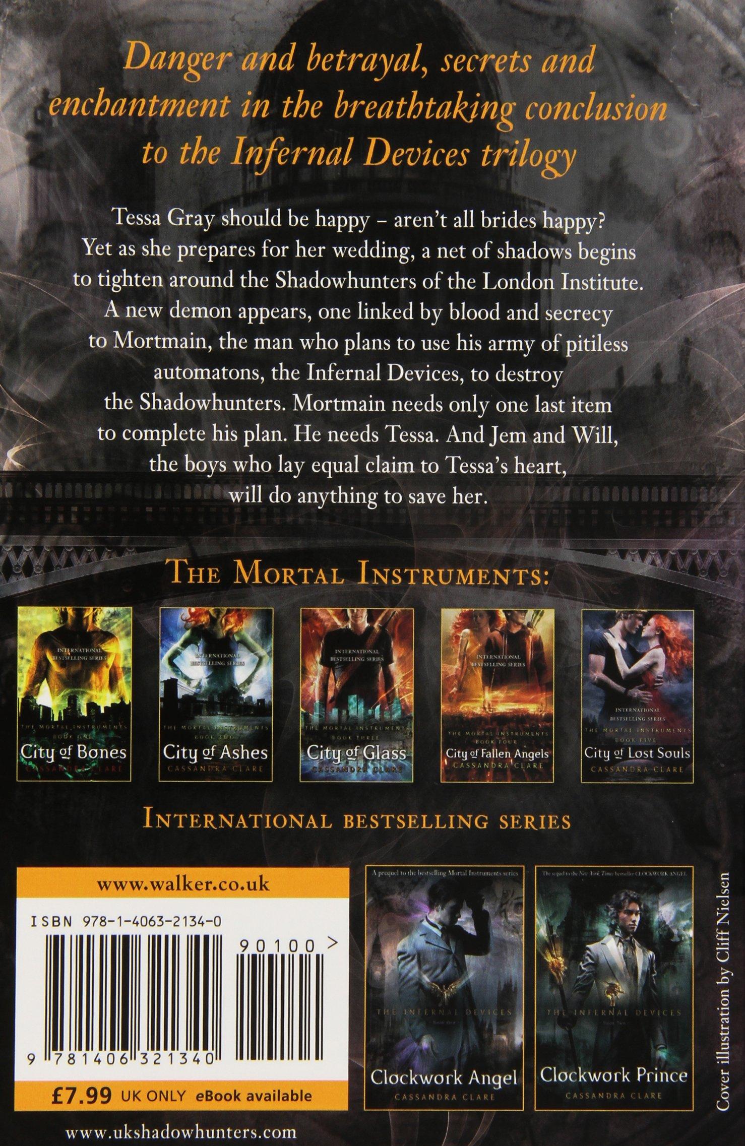 3: Amazon: Cassandra  Clare: 9781406321340: Books