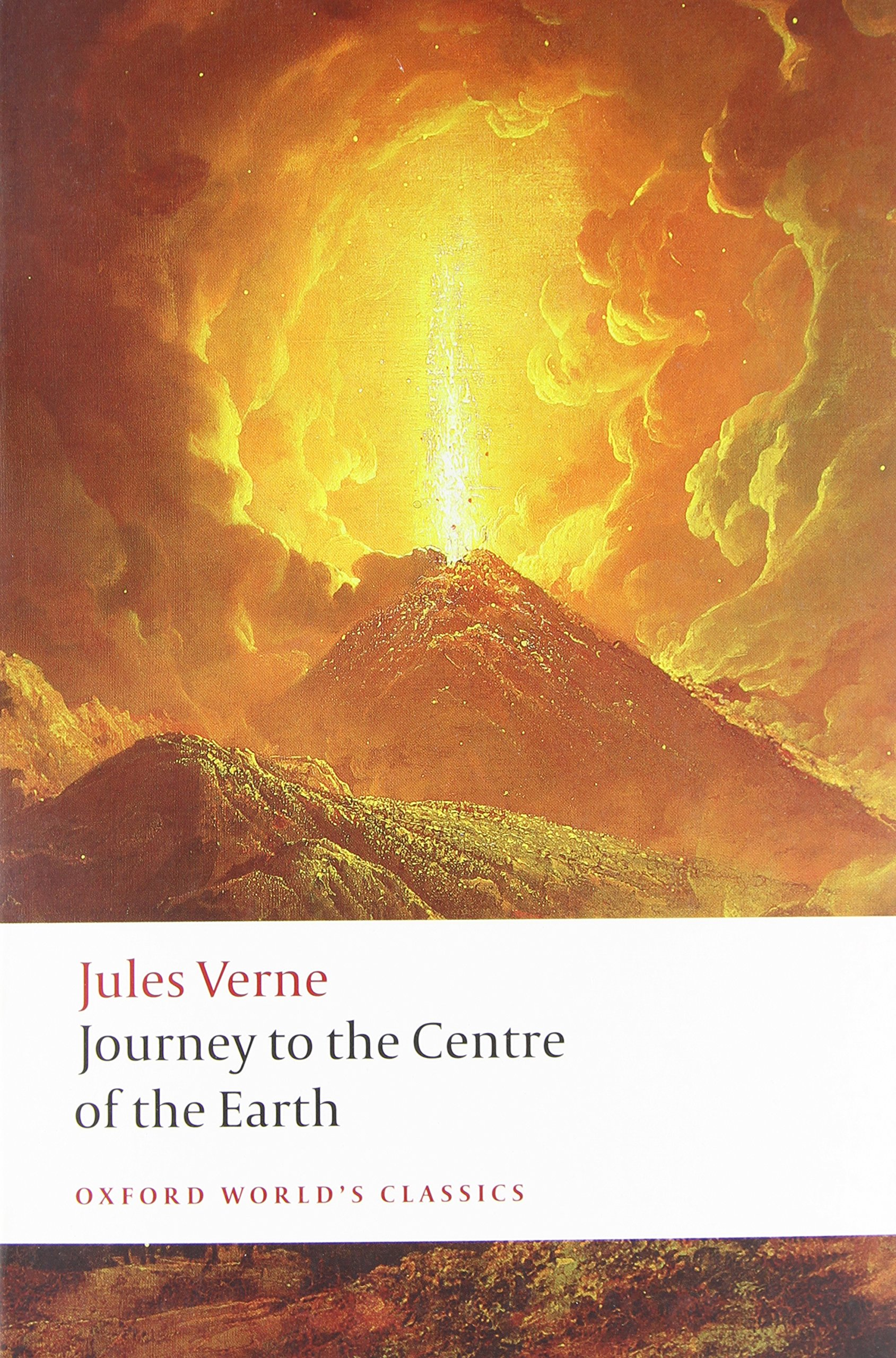 Amazon.com: Journey to the Centre of the Earth (Oxford World's Classics)  (9780199538072): Verne, Jules, Butcher, William: Books
