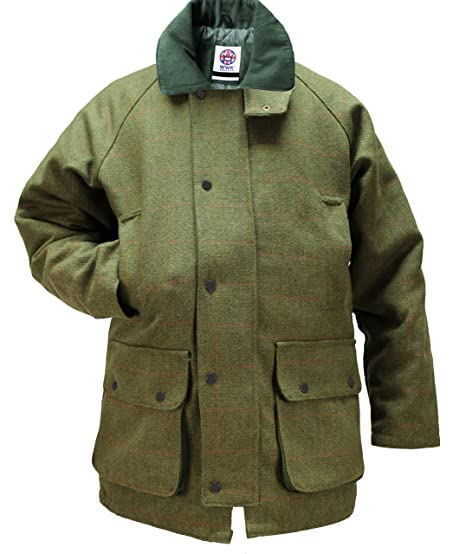 Amazon.com: WWK / WorkWear King Men's Tweed Waterproof Breathable ...