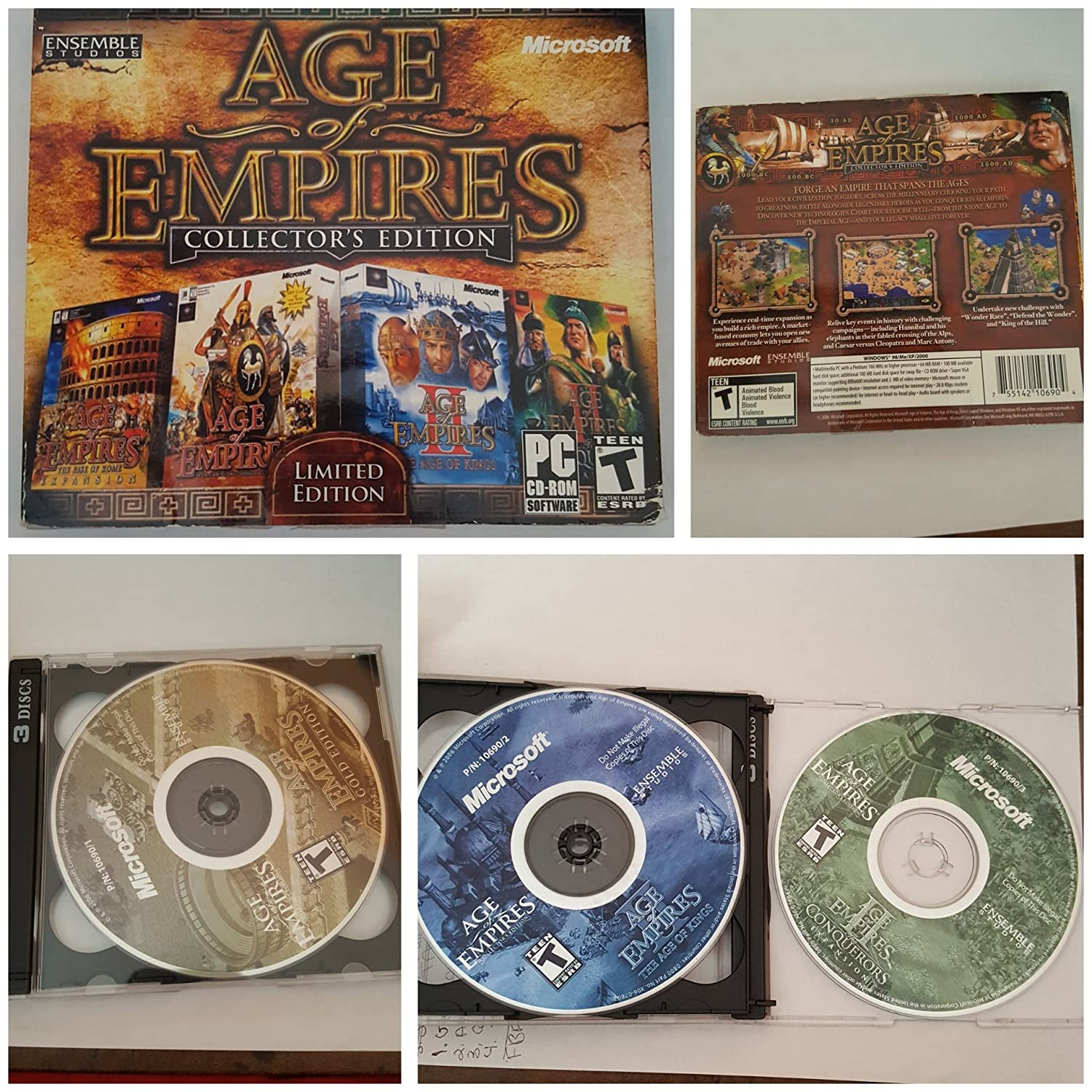 Age Of Empires Collector's Edition (Limited Edition) (輸入版) B000J18SR2 Parent