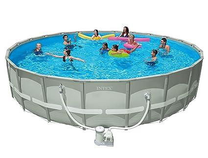 Great Intex 22u0027 X 52u201d Ultra Frame Pool Set