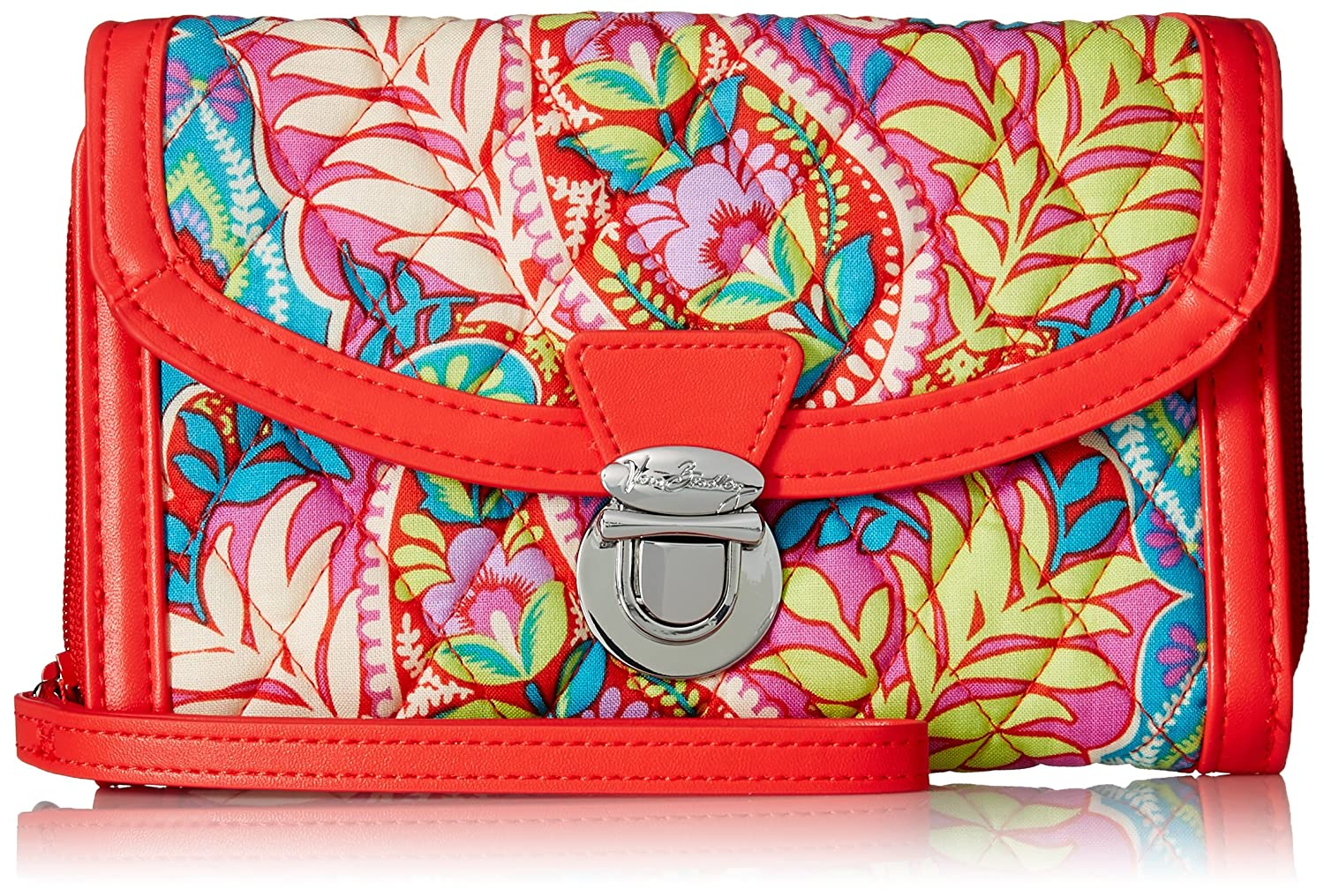 Vera Bradley Ultimate Wristlet, Signature Cotton Bohemian Blooms 15733