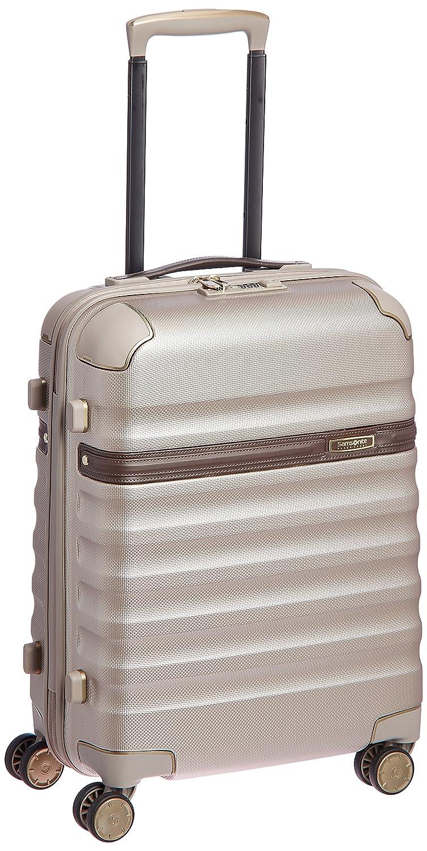 [(サムソナイトブラックレーベル)] スーツケース 機内持込可 保証付 34L 55cm 3.0kg 673971055 B01CQMM3HW アイボリーゴールド/コニャック アイボリーゴールド/コニャック