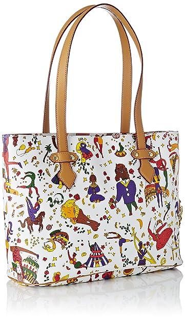 38cddd5b92 Piero Guidi Chiara Tote Bag Con Zip, Women's Tote, White (Bianco), 31x30x10  cm (W x H L): Amazon.co.uk: Shoes & Bags
