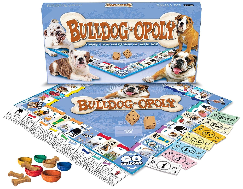 Bulldog Board Game Bulldog-Opoly
