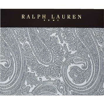 Ralph Lauren Blau Paisley Doppel Bettwasche Amazon De Kuche Haushalt