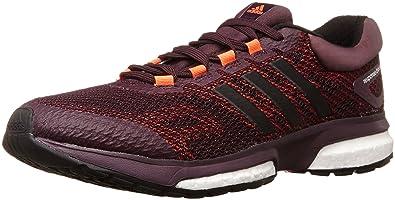 adidas Response Boost, Herren Laufschuhe, Rot (Rich Red F14/Black 1/