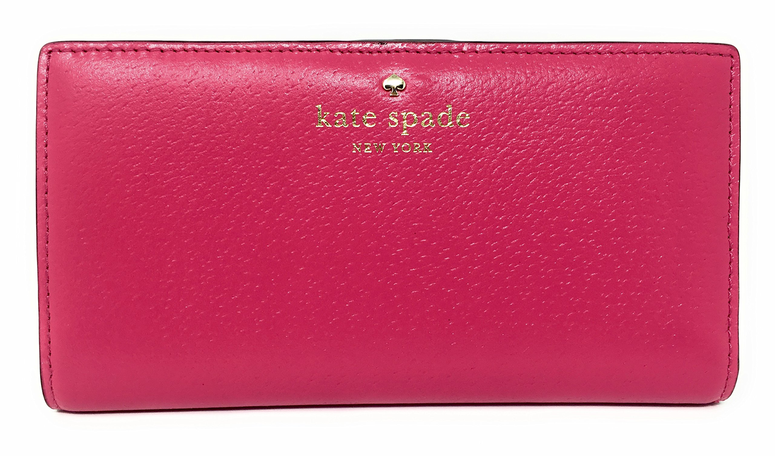 Kate Spade New York Grand Street Stacy Leather Wallet (Radish)