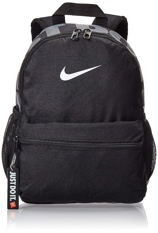 metà fuori 4e3b1 a75ca Nike Y Nk Brsla JDI Mini Bkpk, Zaino Unisex-Bambini, Nero (Black ...