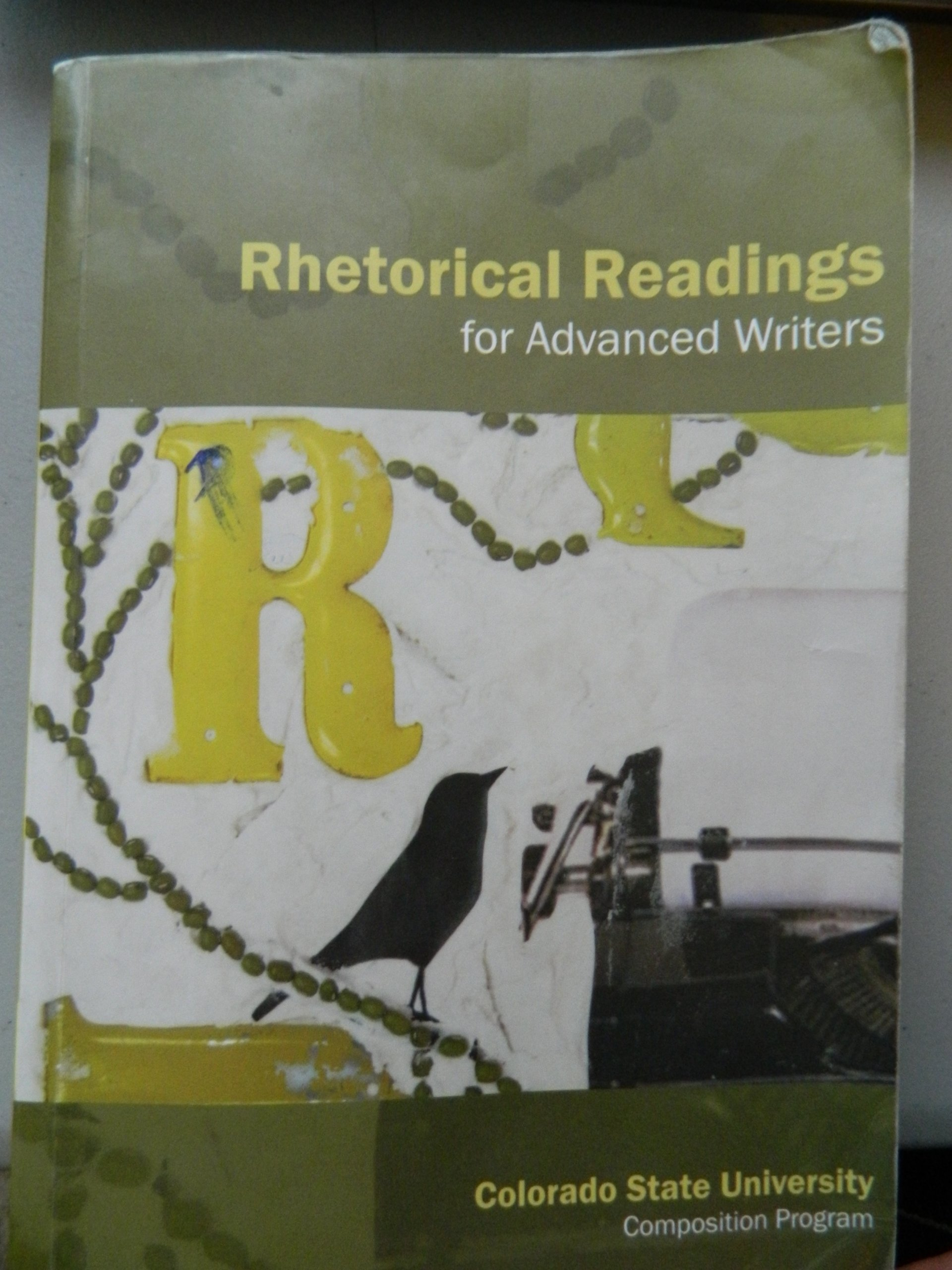Read Online Rhetorical Readings for Advanced Writers pdf epub