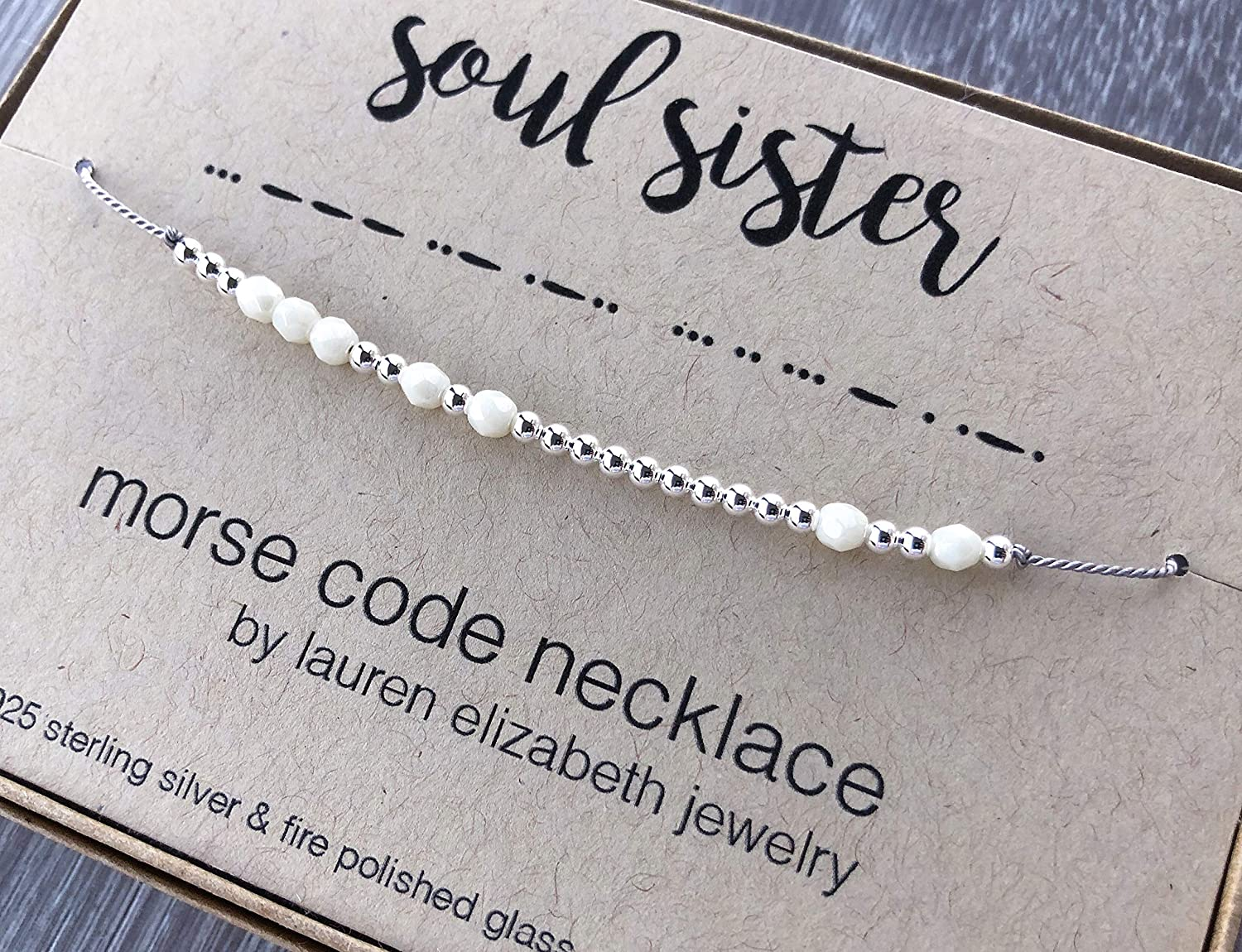 22nd Birthday Gift For Girl Morse Code Necklace and Bracelet Custom Hidden Message Jewelry 22nd Birthday Daughter Birthday Gift Necklace