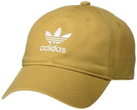 1b9a76055 Amazon.com: adidas Men's Originals Relaxed Strapback Cap, Raw Sand ...