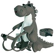 Eather n Mare Kids Backpack, Mesh Type Cute Toddler Backpack (Gray Dinosaur)