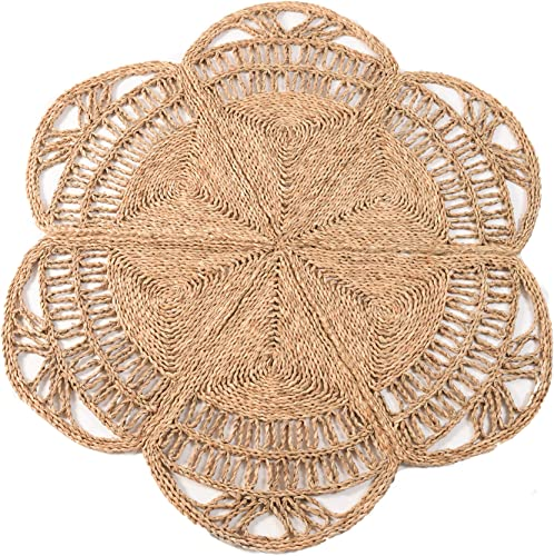 100 Natural Hand Woven Jute Round Area Rug